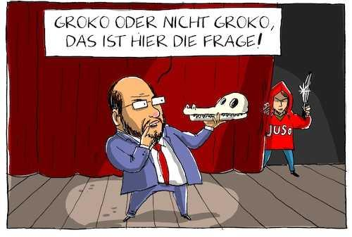 SPD First, GroKo Second!